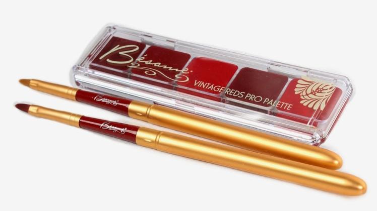 Besame lipstick palette