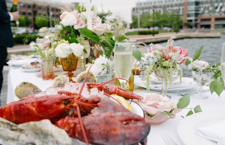 lobster wedding
