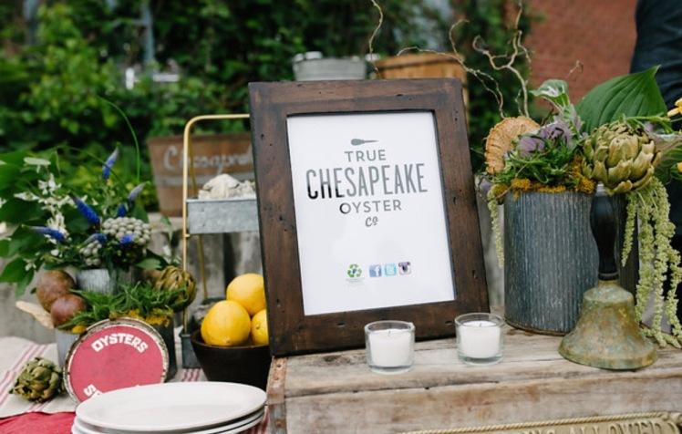 oyster bar wedding theme