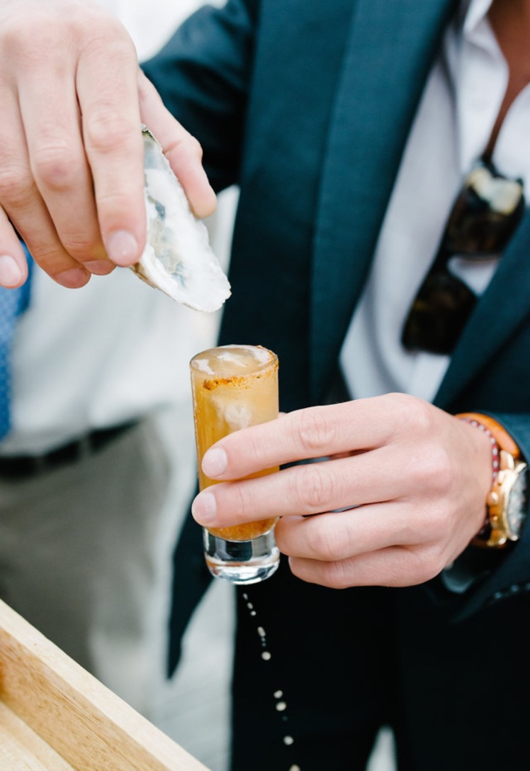 oyster shooters wedding