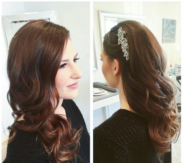 BRIDAL HAIR DOWN CURLS