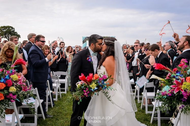 colorful weddings maryland dc